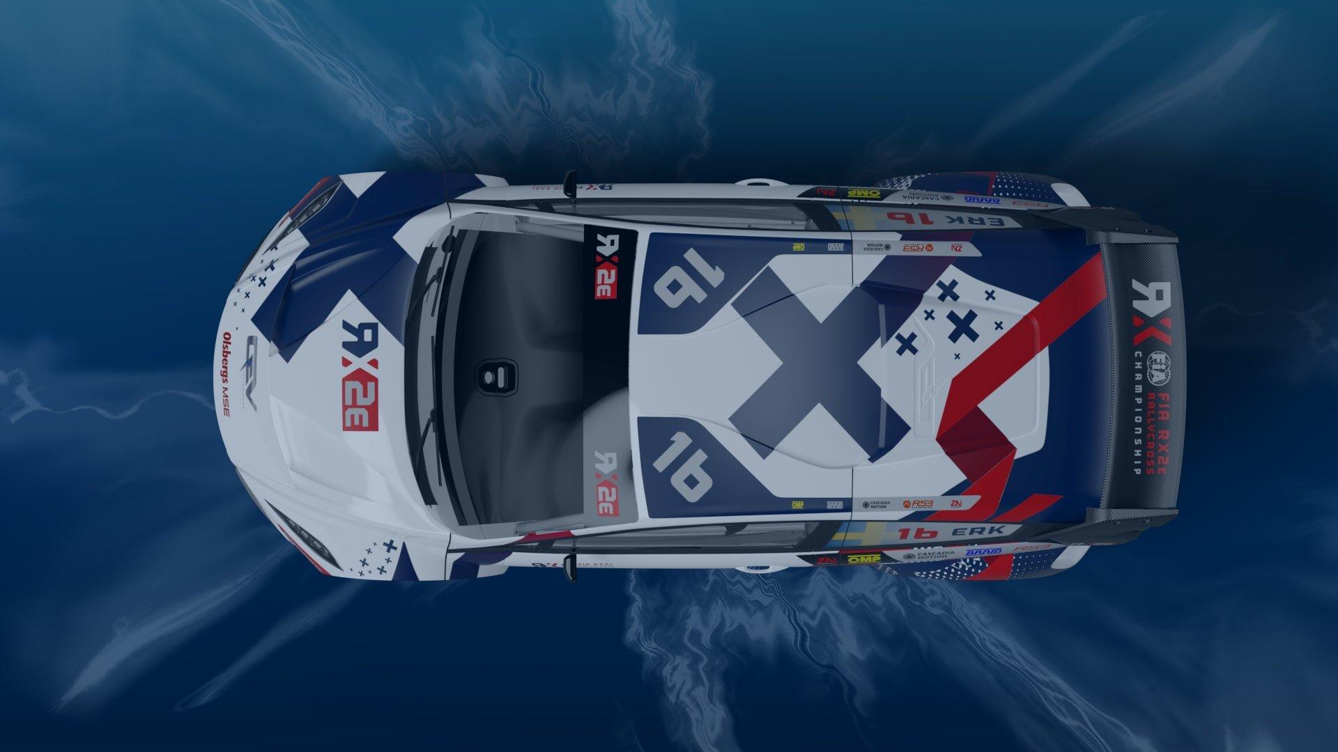 Wraps come off striking new FIA RX2e Championship challenger