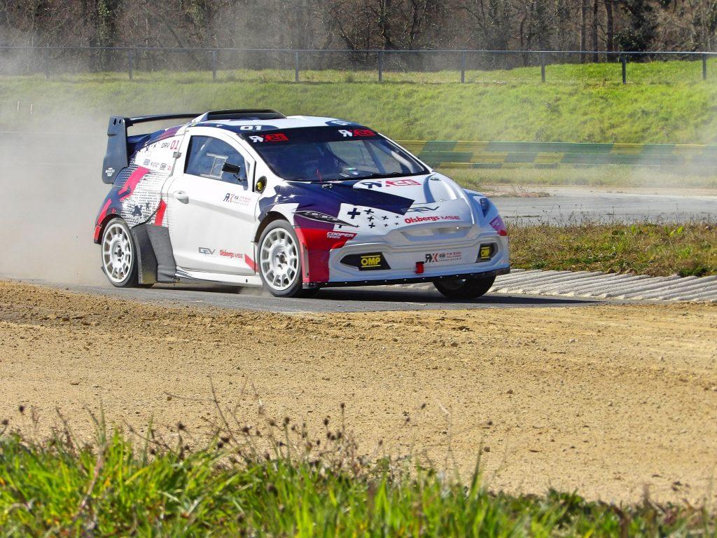 Oliver Eriksson RX2e test